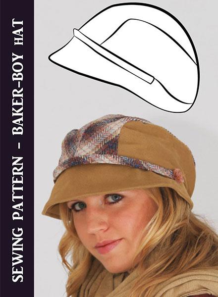 Baker Boy Hat Sewing Pattern